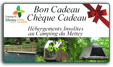 Camping du Mettey Bon & Chèque Cadeau pop-up bloom